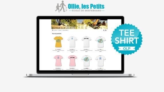 Tee-shirt Ollie les Petits